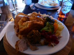 Sunday carvery at The Globe Inn