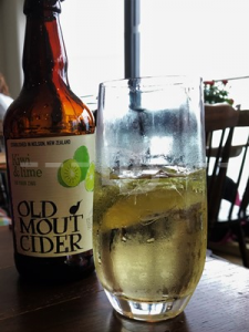 Cider at The Royal George, Appledore